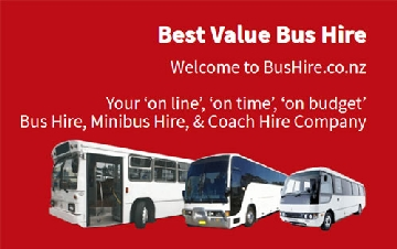 NZ bus hire