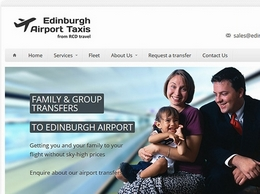 https://www.edinburghairporttaxis.com/ website