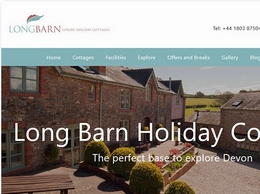 https://www.longbarncottages.co.uk/ website