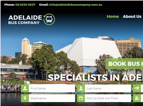 https://www.adelaidebuscompany.com.au/ website