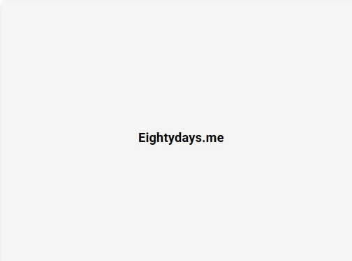 https://app.eightydays.me/ website